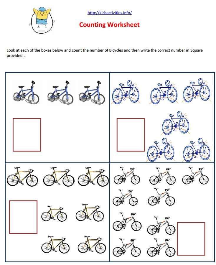 Math Worksheets for Preschool – Maths Worksheets Pdf