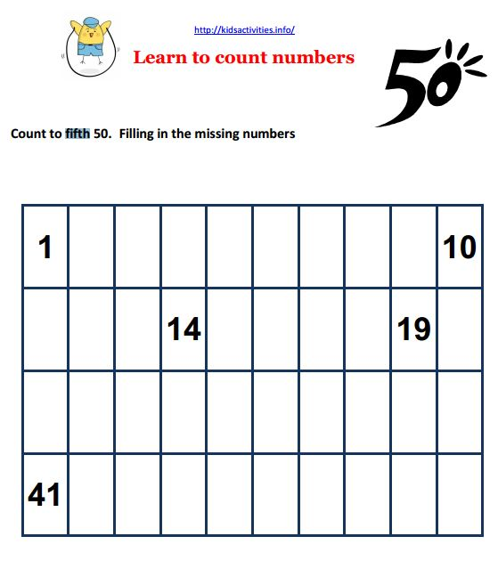 Math worksheets for children entering first grade – 1st Grade Math Worksheets Pdf