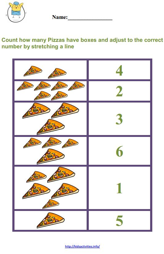 easy math worksheets for kindergarten – Easy Math Worksheet