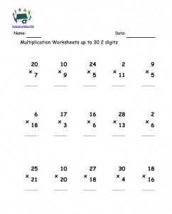 math worksheet : 2 digit multiplication worksheet with answer  kids activities : Two Digits Multiplication Worksheets