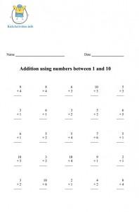 math worksheet : printable math worksheets for kindergarten addition and  : Printable Math Worksheets For Kindergarten Addition And Subtraction