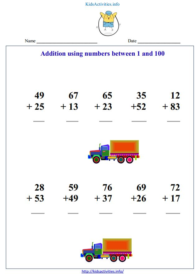 Math exercises for children having difficulty | Kids Activities