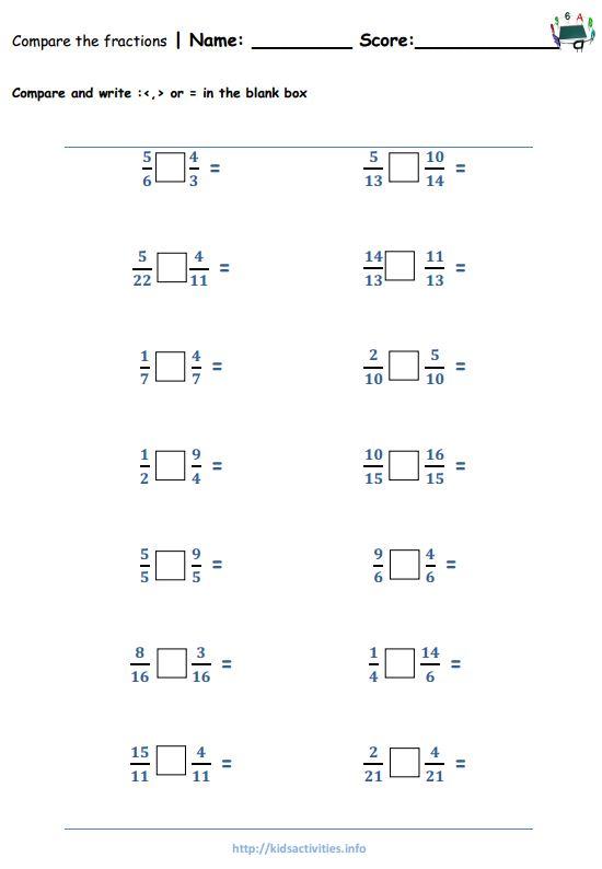 Fraction Worksheets 4th Grade – Fractions Worksheets Pdf